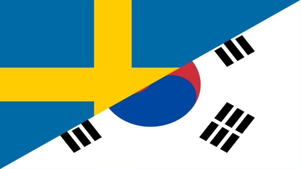 Artikel om Sverige och Sydkorea